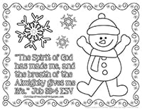 Christmas story theme pages christian preschool printables for A christmas story coloring pages