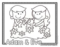 Adam Eve Preschool Printables Christian Preschool Printables