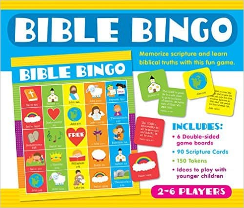 Creation Bible Bingo Game - Christian Preschool Printables