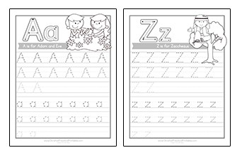 photo about Sunday School Printable Worksheets named Bible Worksheets - Christian Preschool Printables