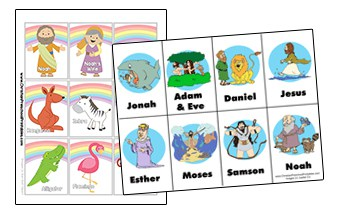 graphic regarding Printable Card Games called Bible Video games - Christian Preschool Printables