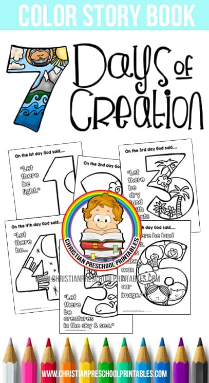 creation christian free coloring pages - photo#29