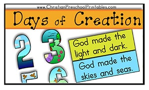 days of creation file folder game