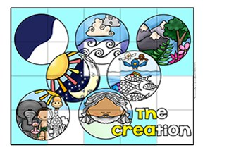 Days Of Creation Bible Puzzle