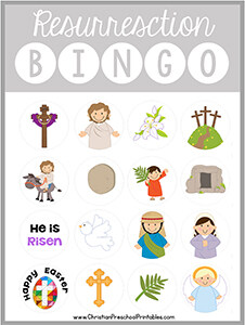image relating to Resurrection Eggs Story Printable referred to as Easter Bible Printables - Christian Preschool Printables
