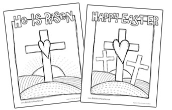 Easter Bible Printables - Christian Preschool Printables