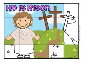 Bible Puzzles - Christian Preschool Printables