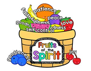 Fruit Of The Spirit Basket Craft