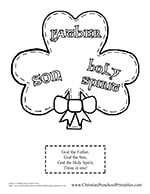 st patrick s day bible printables christian preschool printables