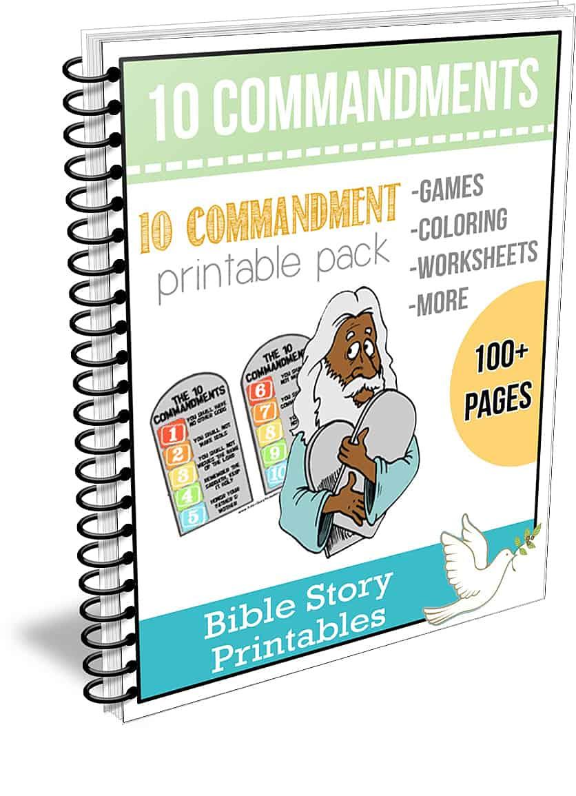Ten Commandment Bible Printable