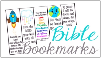 Free Bible Printables - Christian Preschool Printables
