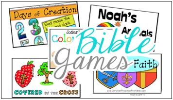 Christian Preschool Printables -