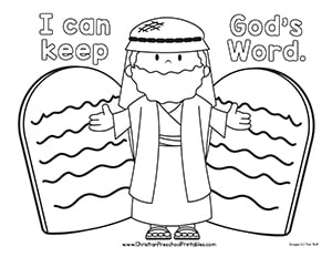 Religion Coloring Pages Gospel