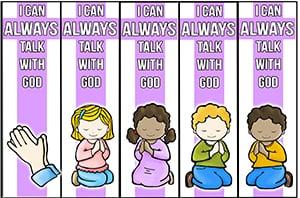 Bible Bookmarks Christian Preschool Printables