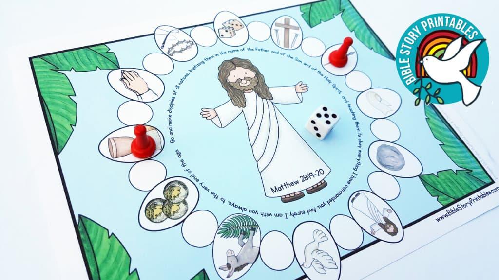 Easter Resurrection Bible Bingo