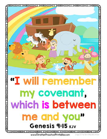 Noah S Ark Preschool Printables Christian Preschool Printables