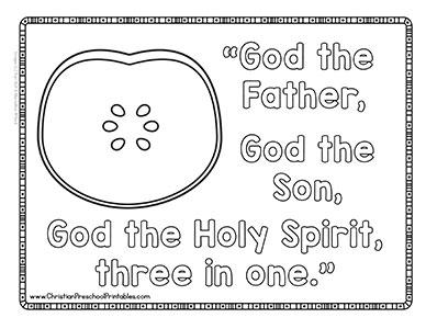 Apple Theme Bible Verse Printables