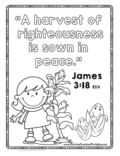 fall religious coloring pages - photo#10