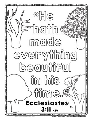 fall religious coloring pages - photo#12