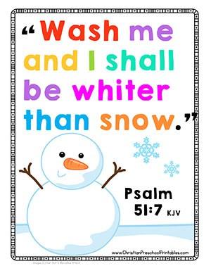 whiter than snow bible verse chart