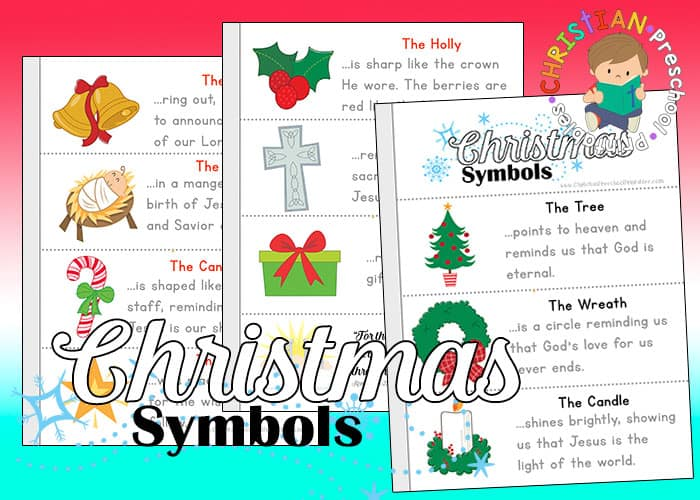Symbols Of Christmas Printables Christian Preschool Printables