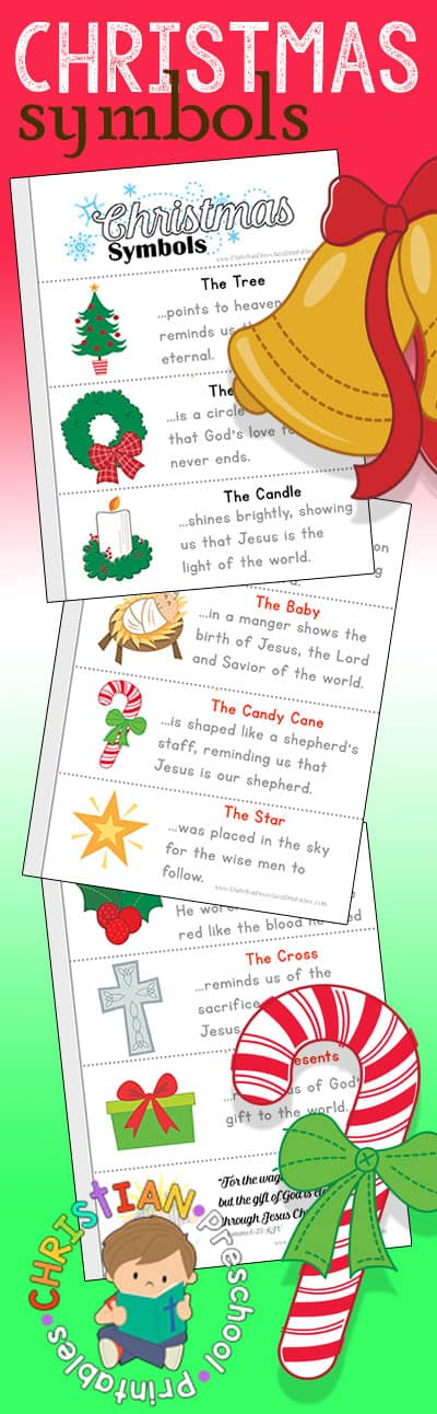 Symbols of Christmas Printables - Christian Preschool ...