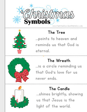 symbols of christmas booklet