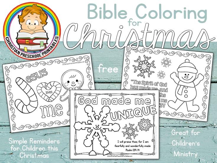 Bible Coloring Archives Christian Preschool Printables