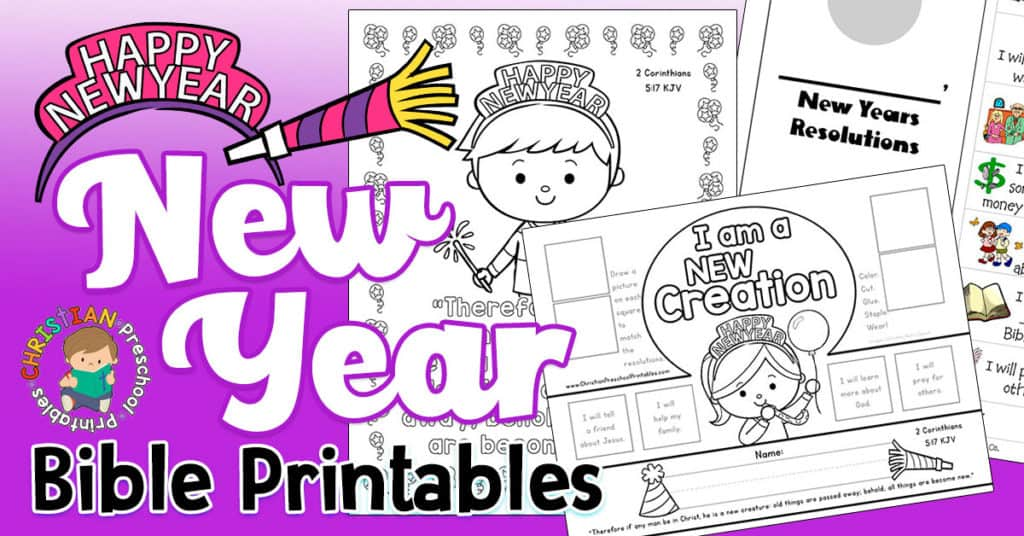 image about Free Printable Children's Church Curriculum known as Contemporary Yrs Bible Printables - Christian Preschool Printables