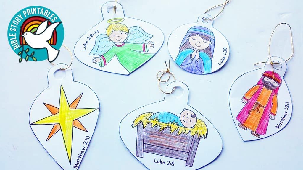 Symbols of Christmas Printables - Christian Preschool ...