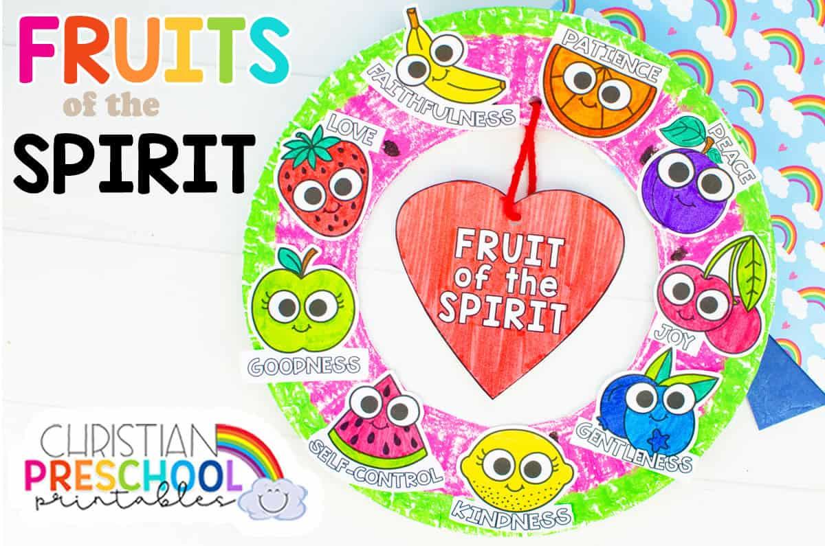 Fruit of the Spirit Printables for Kids - Christian ...