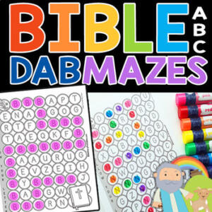 BibleABCDabMazes