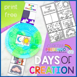 DaysofCreationBibleCraft